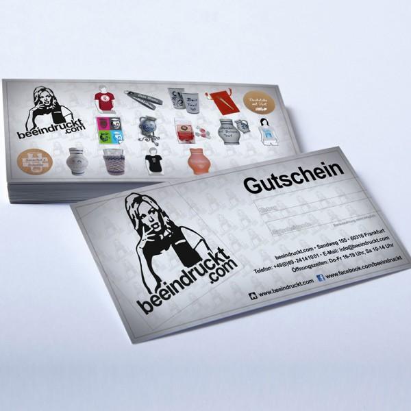 Geschenk Gutschein Beeindruckt.com