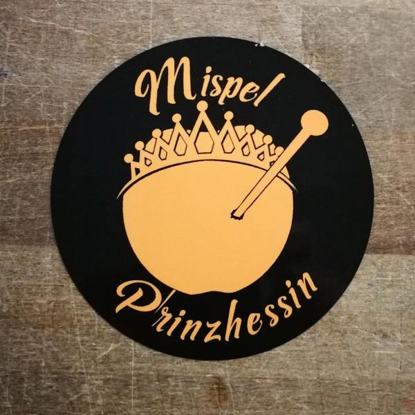 Aufkleber - Mispel Prinzhessin