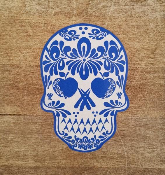 Skull Bembel Totenkopf Aufkleber Uffbabber Cider Didre