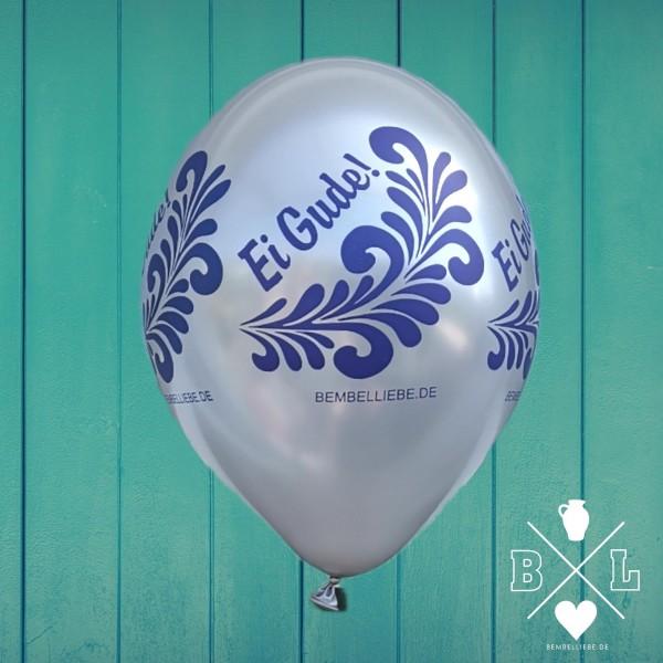 Ei Gude Bembel-Luftballon Bio rundum bedruckt Party Ballon