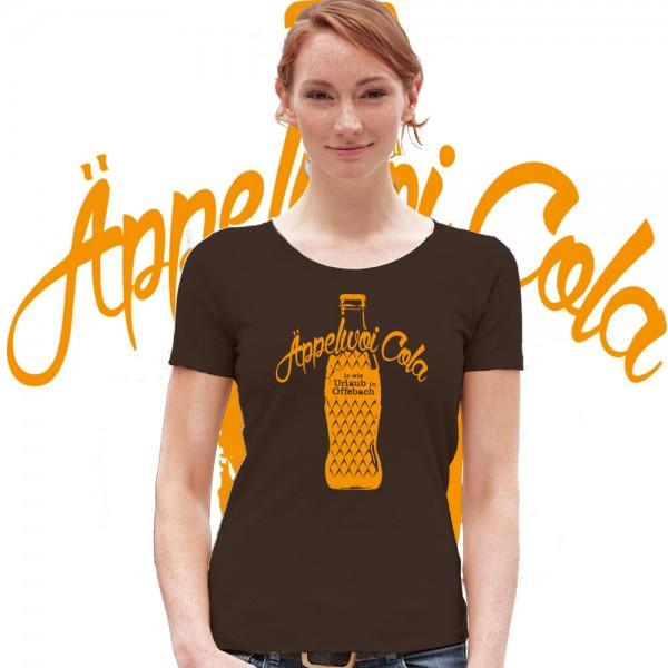Äppelwoi Cola ist wie Urlaub in Offenbach, Bembel Shirt